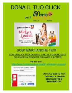 Locandina 1 click donation 2