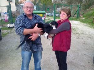 1 famiglia 2 cuccioli